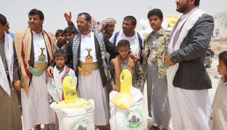 مؤسسة الشهداء تدشن توزيع السلة الرمضانية لأسر الشهداء بصعدة (34669057) 
