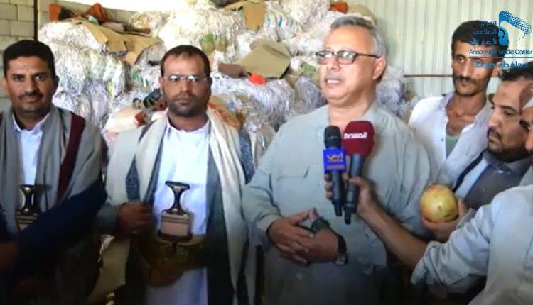 رئيس الوزراء ومحافظ صعدة يتفقدان أحد الأسواق المركزية واحدى المزارع النموذجية (30584715) 